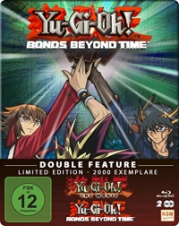 Yu-Gi-Oh! Double Feature: The Movie + Bonds Beyond Time - Limited Future Pak Edition [Blu-ray]