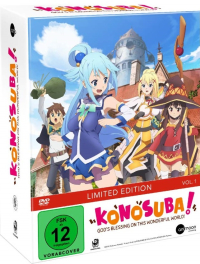 KonoSuba: God's blessing on this wonderful world! - Vol.1/3: Limited Mediabook Edition + Sammelschuber