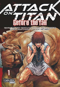 Attack on Titan: Before the Fall - Bd.01: Kindle Edition