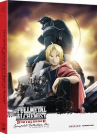 Fullmetal Alchemist: Brotherhood - Box 1/2
