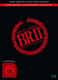 Battle Royale II - Limited Mediabook Collector's Edition [Blu-ray]