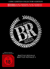Battle Royale I+II - Limited Mediabook Collector's Edition [Blu-ray]