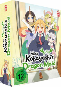 Miss Kobayashi's Dragon Maid - Vol.1/3: Limited Edition + Sammelschuber