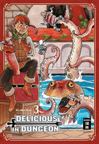 Delicious in Dungeon - Bd. 03: Kindle Edition
