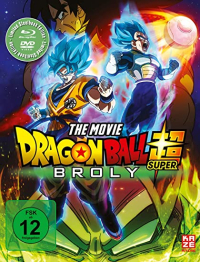 Dragonball Super: Broly - Limited Steelbook Edition [Blu-ray+DVD]