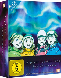 A Place Further than the Universe - Vol.1/3 [Blu-ray] + Sammelschuber