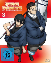Fire Force - Vol.3/4 [Blu-ray]