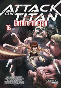 Attack on Titan: Before the Fall - Bd.16: Kindle Edition