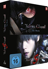 Tokyo Ghoul: The Movie + Tokyo Ghoul S - Steelcase Collection [Blu-ray]