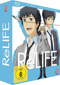 ReLIFE - Vol.1/3: Limited Edition [Blu-ray] + Sammelschuber