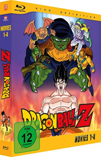 Dragonball Z - Movie 01-04 [Blu-ray]