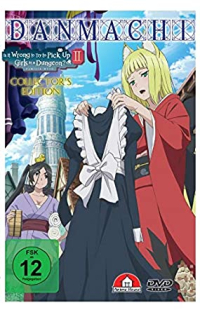 DanMachi: Is It Wrong to Try to Pick Up Girls in a Dungeon? - Familia Myth 2: Vol.3/4 - Collector's Edition