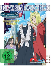 DanMachi: Is It Wrong to Try to Pick Up Girls in a Dungeon? - Familia Myth 2: Vol.3/4 - Collector's Edition [Blu-ray]