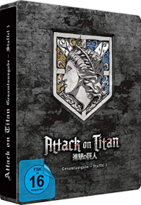 Attack on Titan: Staffel 1 - Gesamtausgabe: Amazon Exklusive Steelbook Edition [Blu-ray]