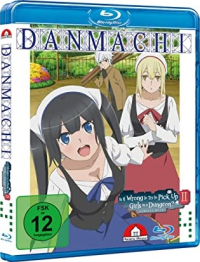 DanMachi: Is It Wrong to Try to Pick Up Girls in a Dungeon? - Familia Myth 2: Vol.4/4 [Blu-ray]