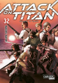 Attack on Titan - Bd. 32: Kindle Edition