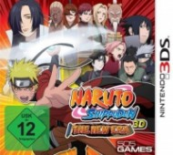 Naruto Shippuden 3D: The New Era [3DS]
