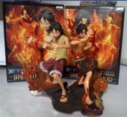 One Piece - Figuren: Monkey D. Luffy, Portgas D. Ace