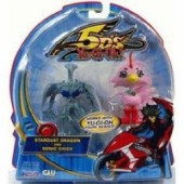 Yu-Gi-Oh! 5D's - Actionfiguren: Stardust Dragon & Sonic Chick