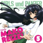 Girls und Panzer - Charakter Song Album: Mako Reizei