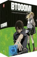 Btooom! - Vol.1/4: Limited Edition + Sammelschuber