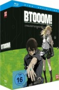 Btooom! - Vol.1/4 - Limited Edition [Blu-ray] + Sammelschuber