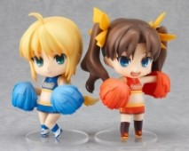 Fate/Stay Night - Actionfiguren: Saber & Rin Tohsaka (Nendoroids)