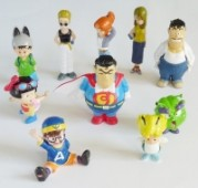 Dr. Slump - Figurenset
