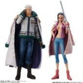 One Piece - Figuren: Smoker, Tashigi (Punk Hazard)