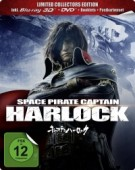 Space Pirate Captain Harlock - Limited Steelbook Edition [Blu-ray 3D]