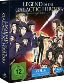 Legend of the Galactic Heroes: Die Neue These - Vol.6/6: Limited Edition [Blu-ray] + Sammelschuber
