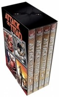 Attack on Titan - Box Set 1: Vol.01-04
