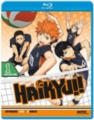 Haikyu!!: Season 1 - Part 1/2 (OwS) [Blu-ray]