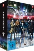 Psycho-Pass 2 - Vol.1/2: Limited Edition + Sammelschuber