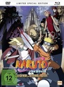 Naruto - Movie 2: Die Legende des Steins von Gelel - Limited Mediabook Edition [Blu-ray+DVD]