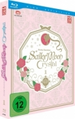 Sailor Moon Crystal - Vol.1/6: Limited Edition [Blu-ray] + Sammelschuber