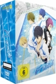 Free! - Vol.1/4: Limited Edition + Sammelschuber