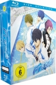 Free! - Vol. 1/4: Limited Edition [Blu-ray] + Sammelschuber