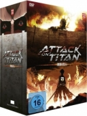 Attack on Titan: Staffel 1 - Vol. 1/4: Limited Edition + Sammelschuber
