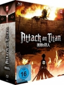 Attack on Titan: Staffel 1 - Vol. 1/4: Limited Edition [Blu-ray] + Sammelschuber