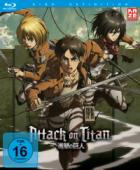 Attack on Titan - Vol.4/4 [Blu-ray]