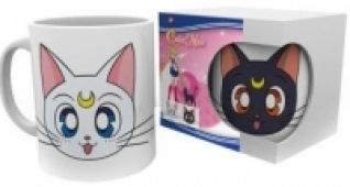 Sailor Moon - Tasse:  Luna & Artemis