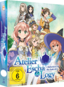 Atelier Escha & Logy: Alchemists of the Dusk Sky - Vol.1/3 [Blu-ray]: Limited Edition + Sammelschuber