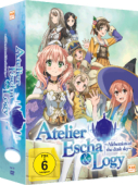 Atelier Escha & Logy: Alchemists of the Dusk Sky - Vol.1/3: Limited Edition + Sammelschuber