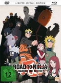 Naruto Shippuden - Movie 6: Road to Ninja - Limited Mediabook Edition [Blu-ray+DVD]