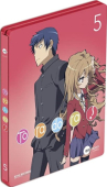 Toradora! - Vol. 5/5: Limited Steelbook Edition [Blu-ray]