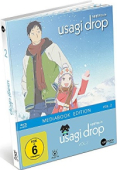 Usagi Drop - Vol. 2/3 [Blu-ray]: Limited Mediabook Edition + Poster