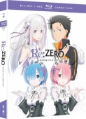 Re:Zero - Starting Life in Another World: Season 1 - Part 1/2 [Blu-ray+DVD]