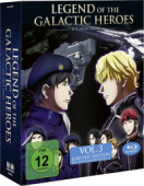 Legend of the Galactic Heroes: Die Neue These - Vol.3/3: Limited Edition [Blu-ray] + Sammelschuber