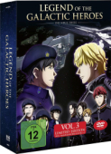 Legend of the Galactic Heroes: Die Neue These - Vol.3/3: Limited Edition + Sammelschuber